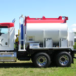 maxam driver side pump truck